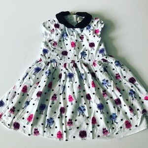 Kate Spade monster dress 4T
